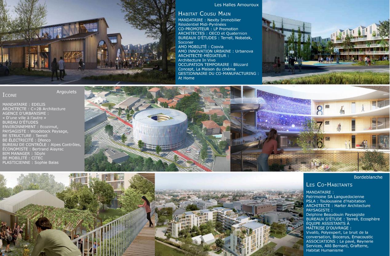 Architecte Paysagiste Midi Pyrénées terrell is part of 3 winning teams of the call for urban